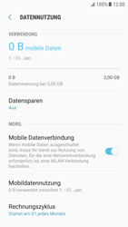 Samsung Galaxy S6 Edge - Android Nougat - Internet und Datenroaming - Prüfen, ob Datenkonnektivität aktiviert ist - Schritt 7