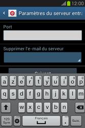 Samsung S6810P Galaxy Fame - E-mail - Configuration manuelle - Étape 10