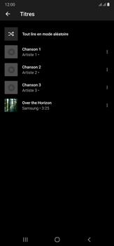 Samsung Galaxy Note20 Ultra 5G - Photos, vidéos, musique - Ecouter de la musique - Étape 10