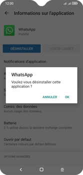 Alcatel 1S (2020) - Applications - Supprimer une application - Étape 8