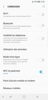 Samsung Galaxy S8 - Android Oreo - Réseau - Activer 4G/LTE - Étape 5