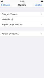 Apple iPhone 7 - iOS 13 - Prise en main - Comment ajouter une langue de clavier - Étape 8