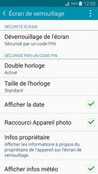 Samsung Galaxy A5 (A500FU) - Sécuriser votre mobile - Activer le code de verrouillage - Étape 11