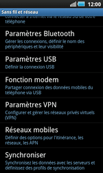 Samsung I9000 Galaxy S - MMS - configuration manuelle - Étape 6
