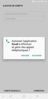 Samsung Galaxy J4+ - E-mails - Ajouter ou modifier votre compte Outlook - Étape 11