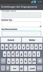 LG Optimus L7 II - E-Mail - Konto einrichten - 2 / 2