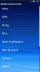 Sony Xperia X10 - Internet - Configuration manuelle - Étape 8