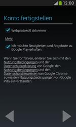 Samsung Galaxy Trend Plus - Apps - Konto anlegen und einrichten - 19 / 28