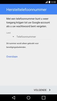 LG G4 - apps - account instellen - stap 8