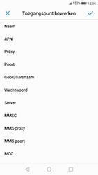 Huawei P10 - internet - handmatig instellen - stap 9