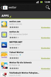 Sony Xperia Go - Apps - Herunterladen - 12 / 22