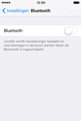 Apple iPhone 4S (iOS 9) - bluetooth - aanzetten - stap 4