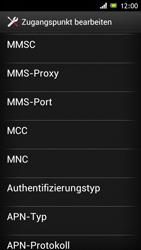 Sony Xperia J - Internet - Manuelle Konfiguration - Schritt 14