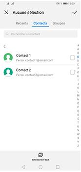 Huawei Y5 (2019) - E-mails - Envoyer un e-mail - Étape 6