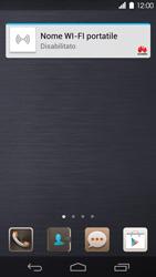 Huawei Ascend P6 - Operazioni iniziali - Installazione di widget e applicazioni nella schermata iniziale - Fase 3