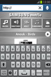Samsung S6810P Galaxy Fame - Internet - Navigation sur Internet - Étape 4