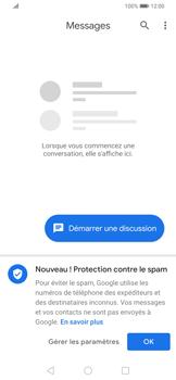 Huawei P Smart Z - Contact, Appels, SMS/MMS - Envoyer un SMS - Étape 3