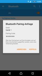 Sony E5603 Xperia M5 - Bluetooth - Geräte koppeln - Schritt 9