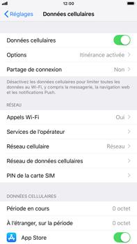 Apple iPhone 8 Plus - iOS 12 - Internet - Désactiver du roaming de données - Étape 4