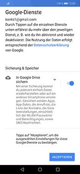 Huawei Honor Play - Apps - Konto anlegen und einrichten - 17 / 19