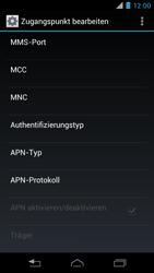 Motorola XT890 RAZR i - MMS - Manuelle Konfiguration - Schritt 15