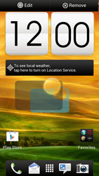 HTC One X - Getting started - Installing widgets and applications on your start screen - Step 8