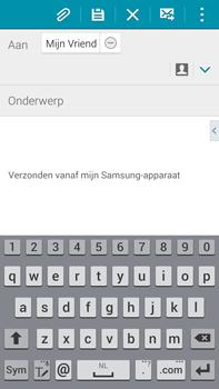 Samsung N910F Galaxy Note 4 - E-mail - E-mails verzenden - Stap 8