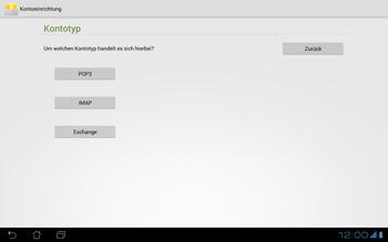 Asus Padfone - E-Mail - Konto einrichten - Schritt 10