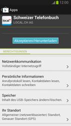 Samsung Galaxy Note II - Apps - Installieren von Apps - Schritt 8