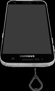 Samsung Galaxy S7 - Android Nougat - SIM-Karte - Einlegen - Schritt 2
