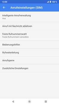 Sony Xperia XZ2 Premium - Android Pie - Anrufe - Rufumleitungen setzen und löschen - Schritt 8