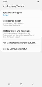 Samsung Galaxy S9 - Android Pie - Startanleitung - So fügen Sie eine Tastatursprache hinzu - Schritt 8