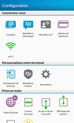 BlackBerry Z10 - E-mail - Configurer l