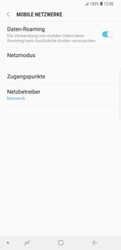 Samsung Galaxy S9 Plus - Ausland - Auslandskosten vermeiden - Schritt 8