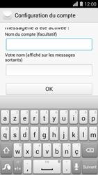 Huawei Ascend Y550 - E-mail - Configuration manuelle (yahoo) - Étape 9