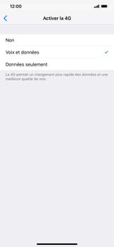 Apple iPhone XR - Internet et connexion - Activer la 4G - Étape 7