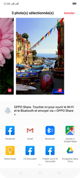 Oppo Reno 2 - Photos, vidéos, musique - Envoyer une photo via Bluetooth - Étape 11