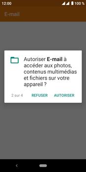 Crosscall Core M4 - E-mails - Ajouter ou modifier un compte e-mail - Étape 5