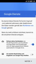 Samsung Galaxy S6 Edge (G925F) - Android Nougat - Apps - Konto anlegen und einrichten - Schritt 17