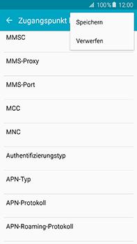 Samsung Galaxy A8 - MMS - Manuelle Konfiguration - Schritt 14