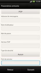 HTC S728e One X Plus - E-mail - Configuration manuelle - Étape 11