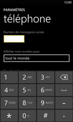 Nokia Lumia 820 LTE - Messagerie vocale - configuration manuelle - Étape 8