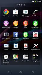 Sony Xperia Z1 Compact - Internet e roaming dati - Uso di Internet - Fase 3