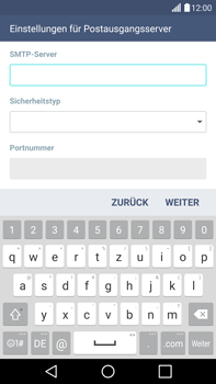 LG G4 - E-Mail - Konto einrichten - 0 / 0