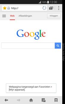Samsung Galaxy Note Edge - internet - hoe te internetten - stap 7