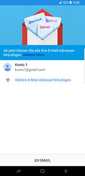 Samsung Galaxy S8 Plus - E-Mail - Konto einrichten (gmail) - 2 / 2