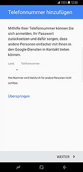 Samsung Galaxy S8 Plus - Apps - Konto anlegen und einrichten - 14 / 20