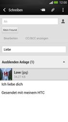 HTC One - E-Mail - E-Mail versenden - Schritt 16