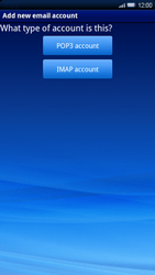 Sony Xperia X10 - E-mail - Manual configuration - Step 6