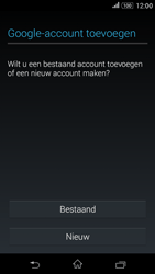 Sony Xperia E4g (E2003) - Applicaties - Account aanmaken - Stap 4